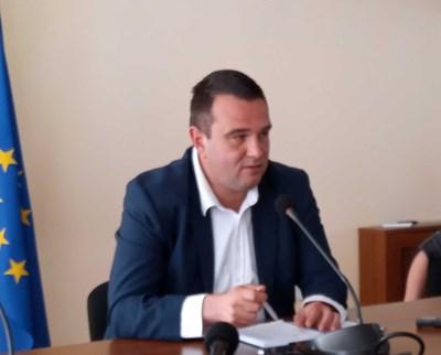 Областният управител на Кърджали Никола Чанев СНИМКА: Авторът