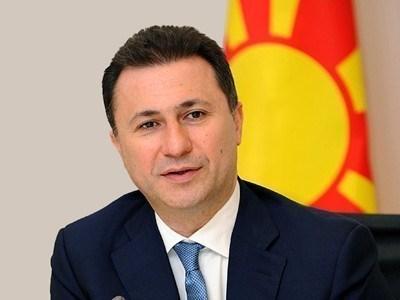 Един от обвиняемите по делото е бившият македонски премиер Никола Груевски  СНИМКА: Ройтерс