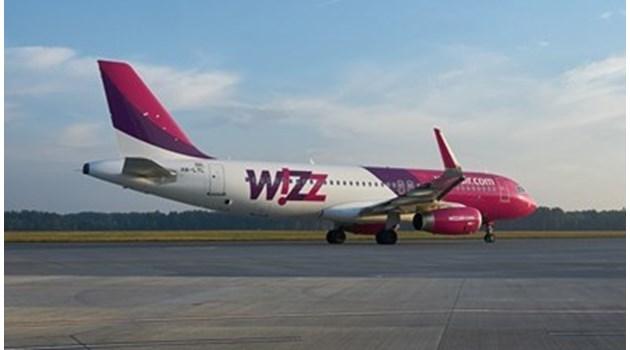 Wizz Air отменя всичките си полети от и до Брюксел в сряда