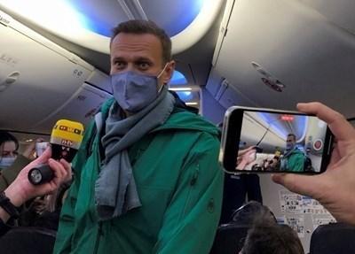 Руският опозиционен лидер Алексей Навални СНИМКА: Ройтерс
