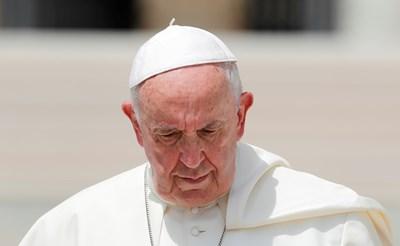 Папа Франциск. Снимка: Pойтерс