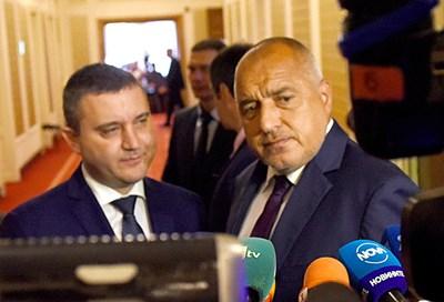 Премиерът Бойко Борисов отиде в парламента, за да представи предложението на правителството партиите да получават държавна субсидия от 1 лв. СНИМКА: Велислав Николов