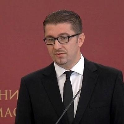 Лидерът на ВМРО - ДПМНЕ Християн Мицкоски СНИМКА: Туитър/mickoskih