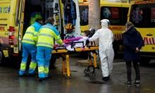 Ледената пързалка в Мадрид е морга, препълнена с умрели. Ритуалните служби не смогват с погребенията