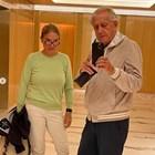 Спас Русев и съпругата му Диляна преди 41 г. и сега