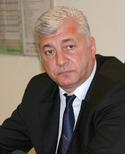 Областният управител на Пловдив Здравко Димитров СНИМКА: Евгени Цветков