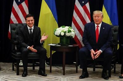Владимир Зеленски и Доналд Тръмп