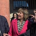 Румен Радев се видя с Мая Манолова на празника на Бобов дол.