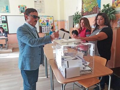 Кандидатът на ДПС за кмет на Свиленград Милко Калайджиев СНИМКА: E_SVILENGRAD.COM