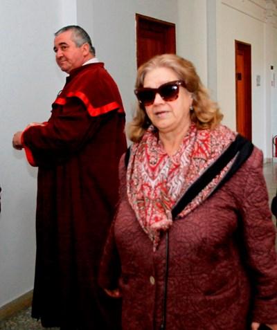 Веселина Гинева в съда