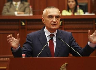Албанският президент Илир Мета Снимка: Ройтерс