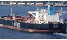 Либийският танкер Бадр се върна в Бургас.  (Видео)