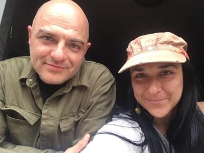 Йосиф и Мила Шамли СНИМКА: Фейсбук/Miwisti Canela