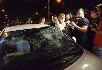 Георгиев не признава, че е чупил колата на д-р Елена Мицева.