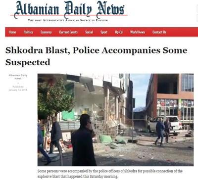 Факсимиле: albaniannews.com