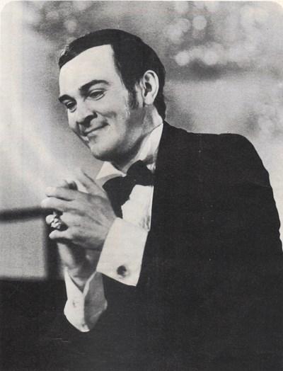 """Муслим Магомаев по време на концерта си на """"Златният Орфей"""" през 1972 г. Снимка: Официален архив на фестивала"""