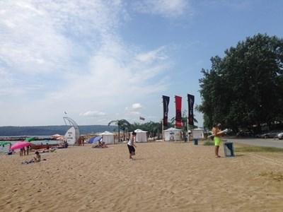 Офицерският плаж във Варна
