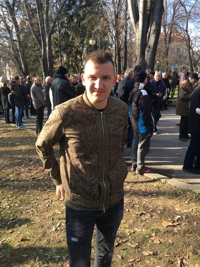 Тодор Неделев днес отказа изявления. Снимка: 24 часа