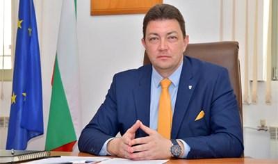 Димитър Бръчков, кмет на Петрич.
