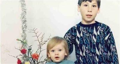 Октай (вляво) с брат си Метин. Снимка: Фейсбук