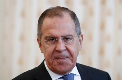 Министърът на външните работи на Руската федерация Сергей Лавров СНИМКА: Ройтерс
