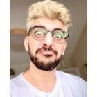 Сашо Кадиев стана блондин и вече не му се налага да мисли за проблемите