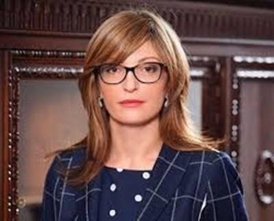 Вицепремиерът и министър на външните работи Екатерина Захариева