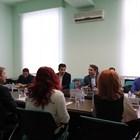 Министрите на икономиката и финансите Кирил Петков и Асен Василев с представители на банките представиха новата програма на правителството.