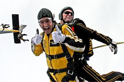 Скачането с парашут е един от най-безопасните екстремни спортове, но въпреки това до 2017 г. има регистрирани 24 смъртни случая. СНИМКА: Pixabay