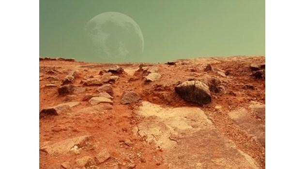 Преди 11 милиона години под повърхността на Марс е текла вода