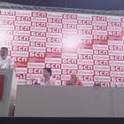 """Зам.-председателят на БСП Кирил Добрев, който бе гост на конференцията на столичната партийна организация """"Възраждане"""". Снимки БСП-София"""