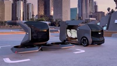 Дженерал мотърс (General Motors) представи безпилотен летящ Кадилак, които може да вози пътници във въздуха СНИМКА: Ройтерс