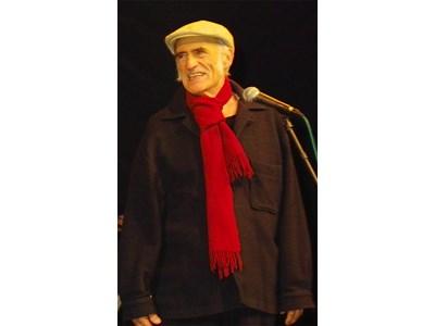 Една от последните снимки на Петър Петров-Парчето на джаз фестивала в Русе през 2010 г. Снимките са предоставени от Клуба на дейците на културата в Русе