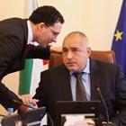 Даниел Митов и Бойко Борисов по време на заседание на второто правителство на ГЕРБ