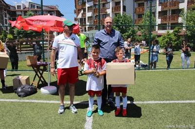 Десет отбора по футбол участваха в турнира в Банско. СНИМКИ: ОБЩИНА БАНСКО