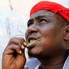 В Йемен хората масово са пристрастени към дъвченето на КАТ.  Снимка Ройтерс