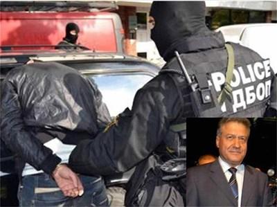 """Един от задържаните при акцията на антимафиотите в сряда. Ливанецът Мустафа Исмаил, нает за убийството на бизнесмена Божин Божинов, е бил помилван от вицепрезидента Ангел Марин. СНИМКИ: МВР И """"24 ЧАСА"""""""
