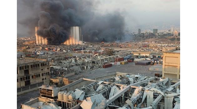 Много убити, ранени и щети след взрив в Бейрут