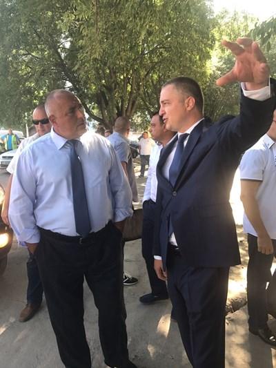 Бойко Борисов СНИМКИ: пресцентъра на Министерски съвет на Република България