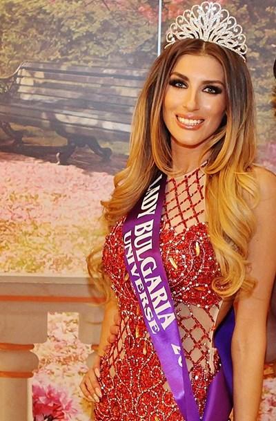 Снимка на новата Мис България от профила й във фейсбук  СНИМКИ:  ЦВЕТОМИР  САРАЧИЛОВ И ФЕЙСБУК