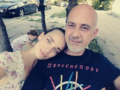 Ирена Милянкова, вече Чолакова, и съпругът й Никола Чолаков. Снимка: Личен архив