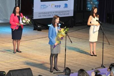 Мария Габриел във Варна СНИМКИ: ПП ГЕРБ