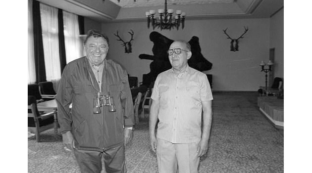 Смъртоносното приятелство между Тодор Живков и Щраус