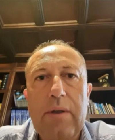 Вицепрезидентът на БФС Атанас Фурнаджиев Кадър: БНТ