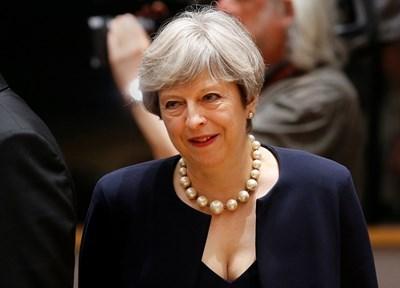 Британският премиер Тереза Мей СНИМКА: Ройтерс