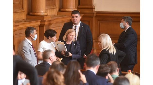 """""""Демократична България"""" отказа срещата с БСП за третия мандат"""