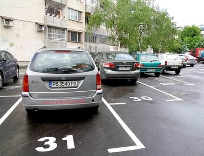 Паркиране Снимка: Архив СНИМКА: Наташа Манева