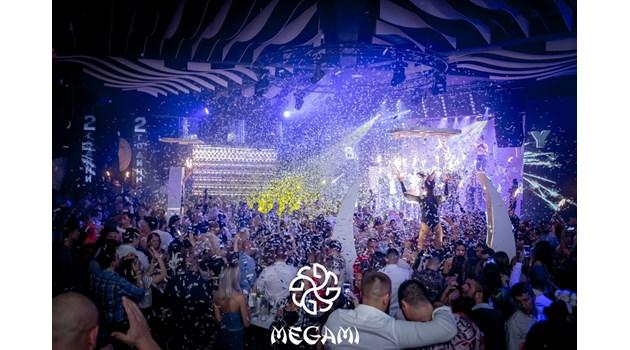 Богинята на нощна София Megami Club - Hotel Marinela се завръща с бляскаво откриване тази вечер