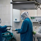 Болница в Москва СНИМКА: Ройтерс