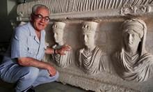 Учен мъченик спаси реликвите на Палмира